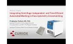Integrating Centrifuge Independent and Time Efficient Automated Washing in Flow Cytometry Crossmatc Video