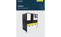 Quanterix Simoa - Model HD-X - Fully Automated Immunoassay Analyzer Brochure