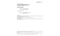 Tonbo - Model 1X - Annexin V Binding Buffer Brochure