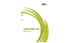 Albin Pump - Model ALP - Low Pressure Peristaltic Pump Brochure