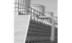 Thermoformed plastic solutions for cooling tower sector
