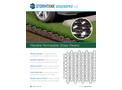 Groundpro GRS Flexible Permeable Grass Pavers - Cut Sheet Brochure