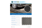Groundpro GRV Flexible Permeable Gravel Pavers - Cut Sheet Brochure