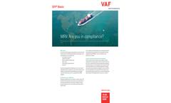 VAF - Version IVY - Propulsion Performance Management Software Brochure