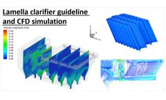 Lamella clarifier guideline – tube settler design and CFD simulation (Video animation)