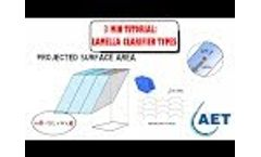 Lamella clarifiers - Increase settling performance - Video