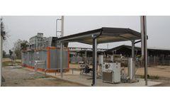 Biogasmetano - Model BGM - Biogas Pre Treatment Unit