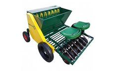 Garmach - Model AGP-7R - 7 Row Chain Type Garlic Planting Machines