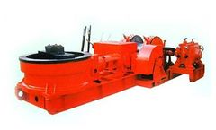 Orangelamp - Model TSJ-2000 E - Drill Rig