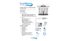 EverWave Onyx - 4-Stage UF Filtration System - Manual