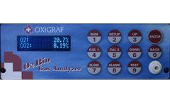 Oxigraf - Model O2 and CO2 - Bioreactor Off-Gas Monitoring