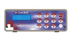 Oxigraf - Model O2Cap - Oxygen Analyzer for Capnography