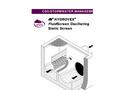 Hydrovex - FluidScreen Oscillating Static Screen Brochure