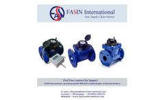 Water Meter Supplier - For Industrial