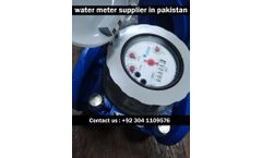 Elster water meter - Model New - Elster Water Meter Supplier In Pakistan
