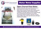EFC - Model EFC1 - Open Channel Flow Meter Supplier In Pakistan