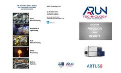 Arun Artus - Model 8 - High Performance Metal Analyser  Brochure