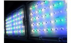 Eco-Industrial - Model HB-6-250W-2W1B1G - Aquaculture Fish Farming Linear Highbay LED Light