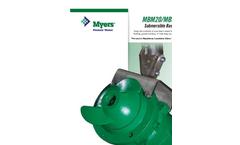 Myers - Model MBM/MBMX - Submersible Basin Mixer - Brochure