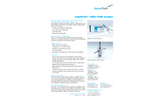 LiquiSonic - Online Bath Monitor - Brochure