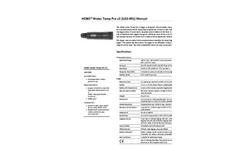 HOBO - Model U30 - USB Weather Station Data Logger- Brochure