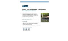 HOBO - Model U20L-002 - 100 ft Water Level Data Logger- Brochure
