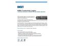 U24 Conductivity Loggers Data Sheet