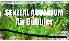 Fish Tank Air Stone Bubble Bar - Video
