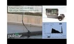 Sludge Finder 2 - Self-Cleaning Viper Transducer in Secondary Clarifier - Video