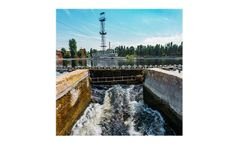 Ultrasonic instrumentation for influent and effluent flow monitoring