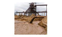 Ultrasonic instrumentation for mud level applications