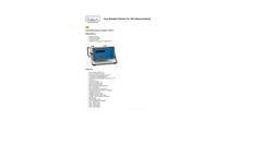 Ratfisch - Model RS53-T - Portable Total Hydrocarbon Analyzer Brochure