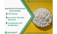 Activated alumina for air and gas drying.