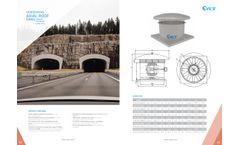 Cvsair - Horizontal Axial Roof Fan - Brochure
