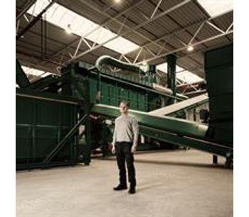 Technical description of a recycling plant