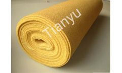 High temperature insulation polyimide filter material