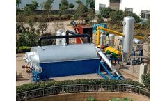 Benji - Model 20TPD - Fully Continuous Waste Plastic Pyrolysis Plant