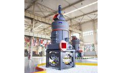 SBM - Model MB5X - Pendulum Roller Grinding Mill