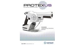 Protexus - Model PX300ES - Cordless Electrostatic Sprayers Brochure
