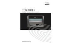 Hot-Disk - Model TPS 2500 S - Thermal Conductivity Meter Brochure