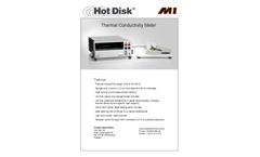 Hot Disk - Model M1 - Thermal Conductivity Meter Brochure