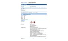 Microbiologics - Parasite Suspensions  Brochure
