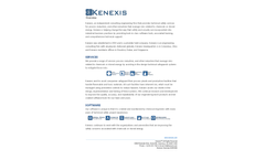 Kenexis Overview Company Profile - Brochure