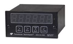 Transducer - Plug & Play Smart Digital Panel Mount Load Cell Meter