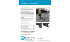 Pig - Model PAD1000, PAD1100, GEN4000, GEN4001 - Sheet Protection Mat Brochure