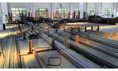 ROLLER- manufacturer workshop from Qingdao Hexin Machinery Video