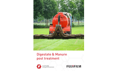 Digestate & Manure Post Treatment Application - Brochure
