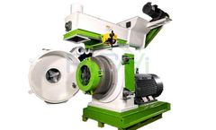 RICHI - Model MZLH - 4-5t/h Rice Husk Pellet Mill for Sale:Making Fuel Pellets from Rice Husk