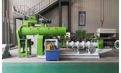 Floating Fish Feed Extruder, 1.2t/h Fish Feed Pellet Production Line