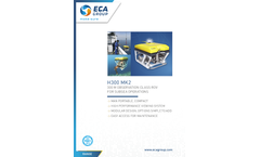 ECA - Model H300-MK2 - Remotely Operated Vehicles (ROV) Brochure